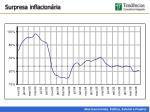 surpresa inflacion ria