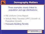 demography matters20