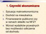 1 czynniki ekonomiczne