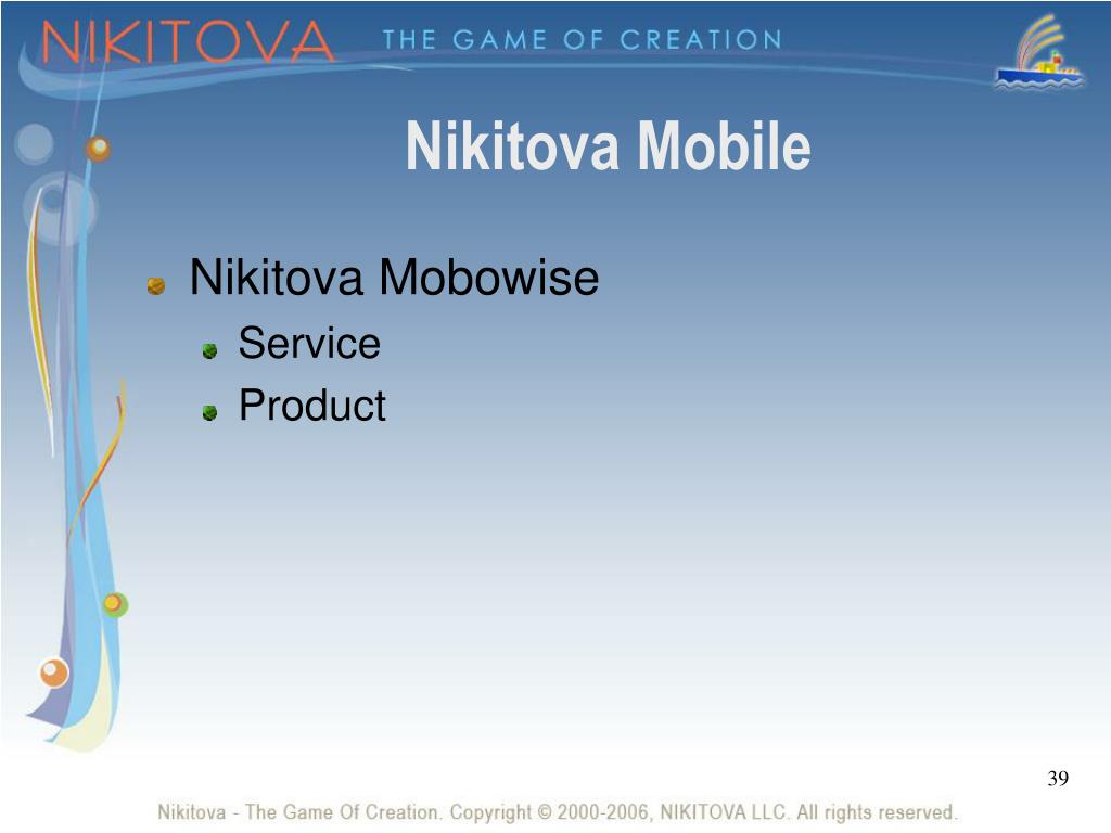 Nikitova Mobile