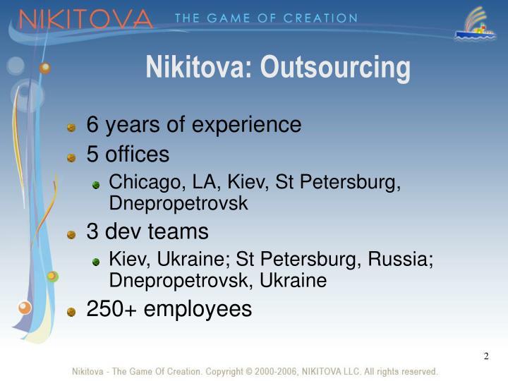 Nikitova outsourcing
