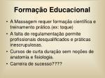 forma o educacional