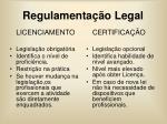 regulamenta o legal