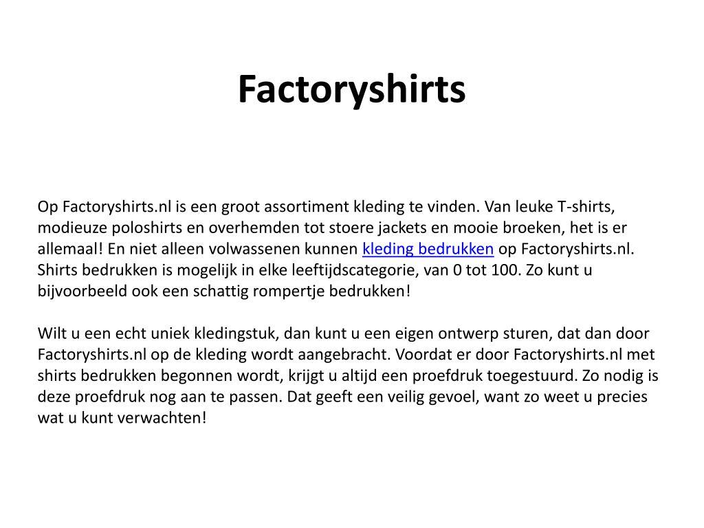 factoryshirts l.