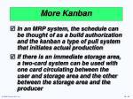more kanban42