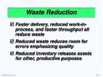 waste reduction11