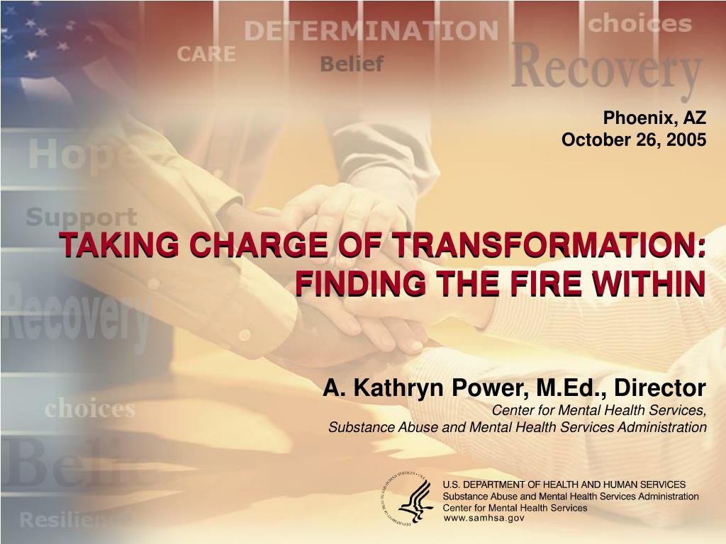 taking charge of transformation finding the fire within l.