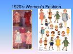 1920 s women s fashion
