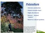 polyculture