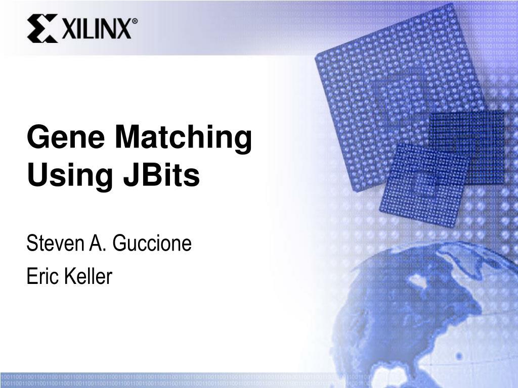 gene matching using jbits l.