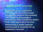 regulation behavior7