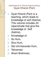 upanishads by pt shriram sharma acharya gyan khand part
