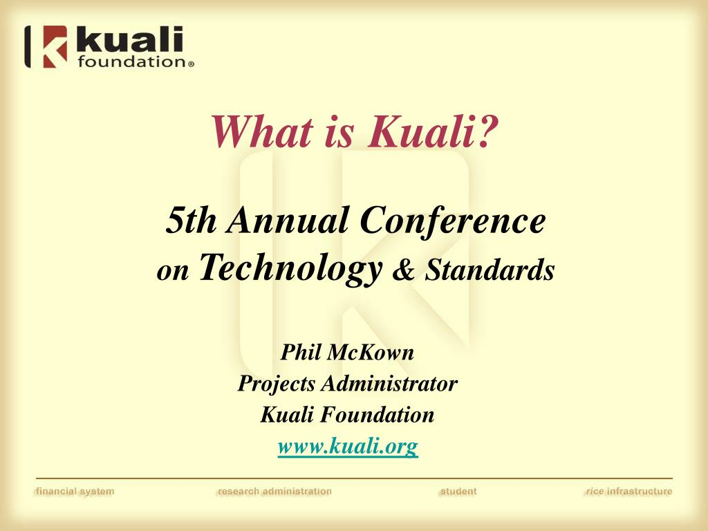 what is kuali l.