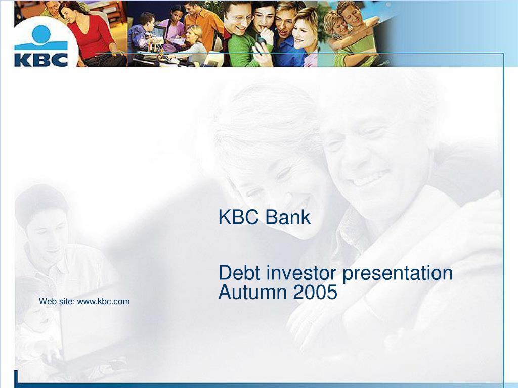 kbc bank debt investor presentation autumn 2005 l.