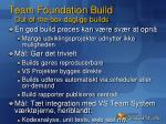team foundation build out of the box daglige builds