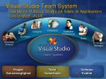 visual studio team system udvidelse af visual studio p tv rs af applikations livsforl bet alm