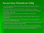 success keys perkaderan hmi