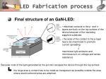 3 led fabrication process17