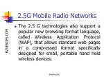 2 5g mobile radio networks26
