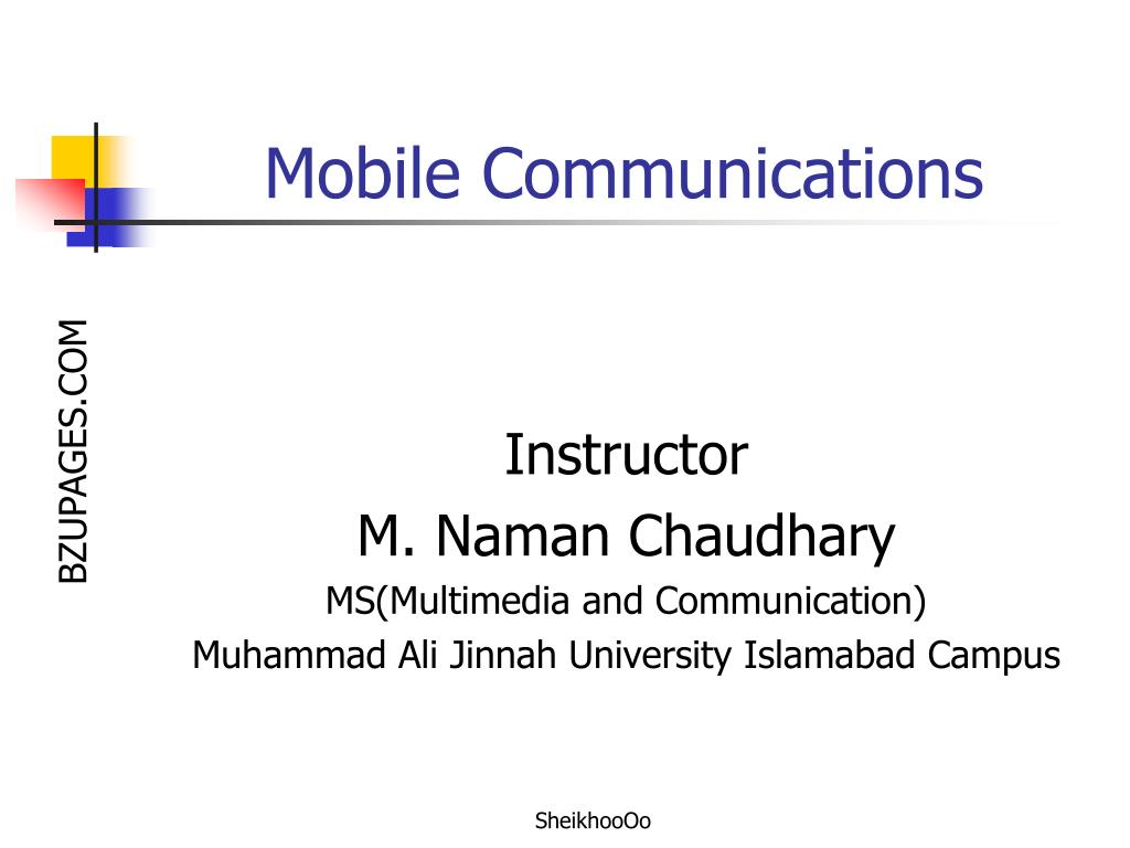 mobile communications l.