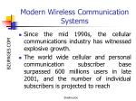modern wireless communication systems4