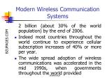modern wireless communication systems5