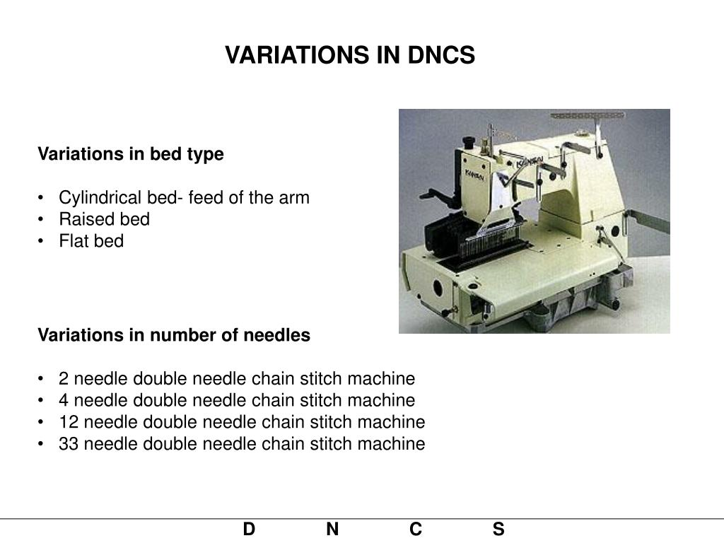VARIATIONS IN DNCS
