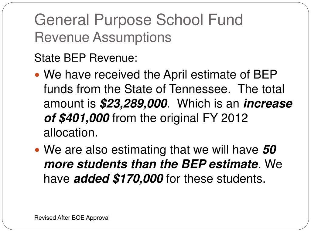 General Purpose School
