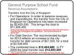 general purpose school fund revenue assumptions10