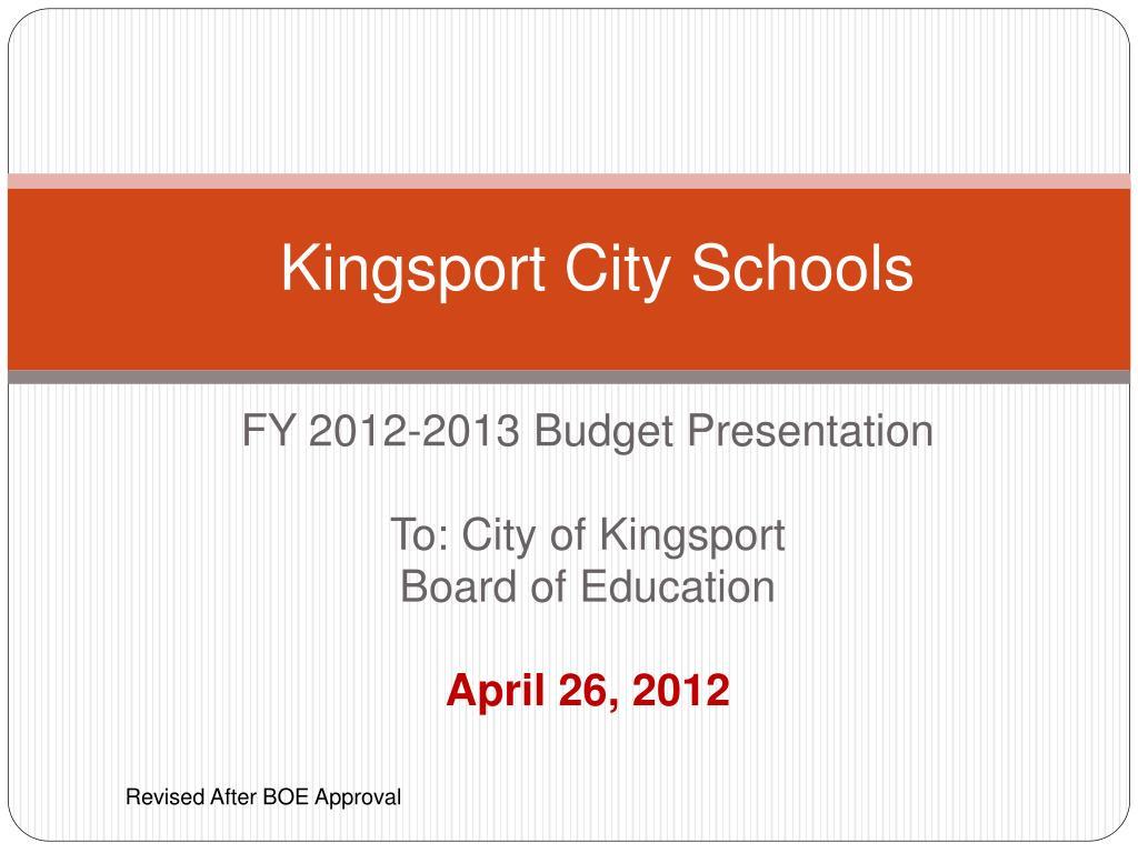 kingsport city schools l.