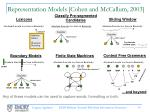 representation models cohen and mccallum 2003