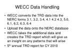wecc data handling