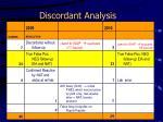 discordant analysis11