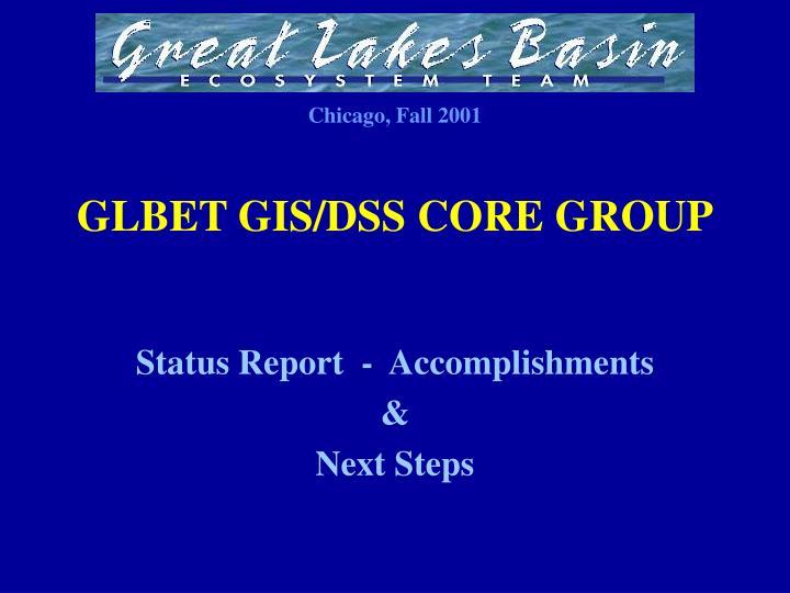 Glbet gis dss core group