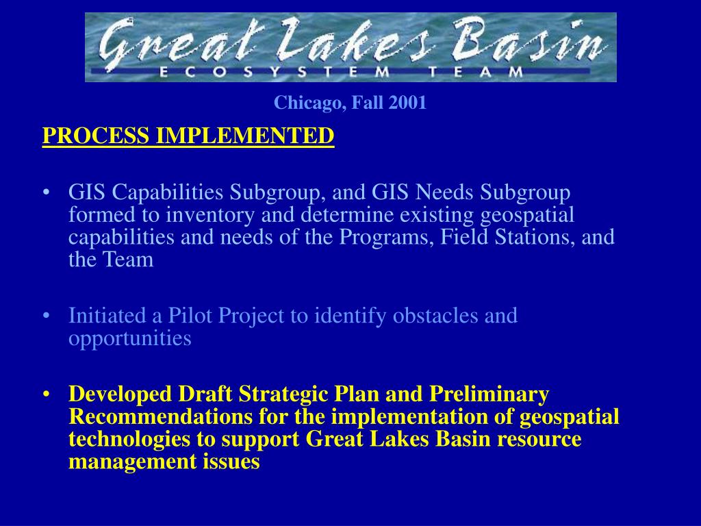 PROCESS IMPLEMENTED