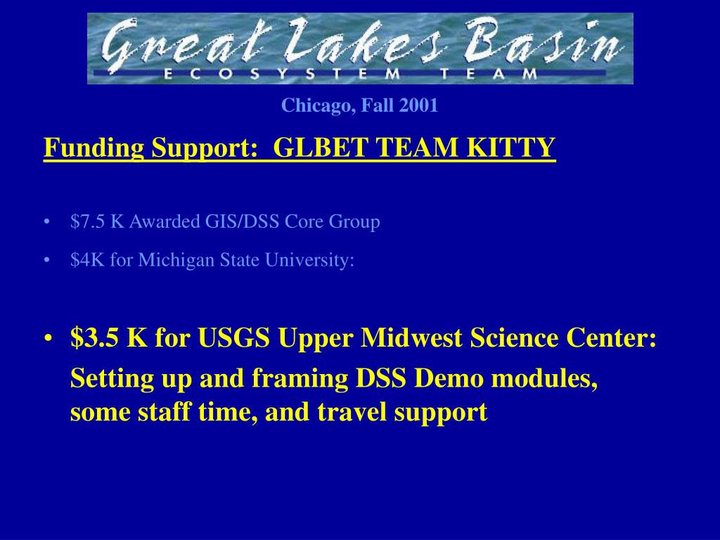 Funding Support:  GLBET TEAM KITTY