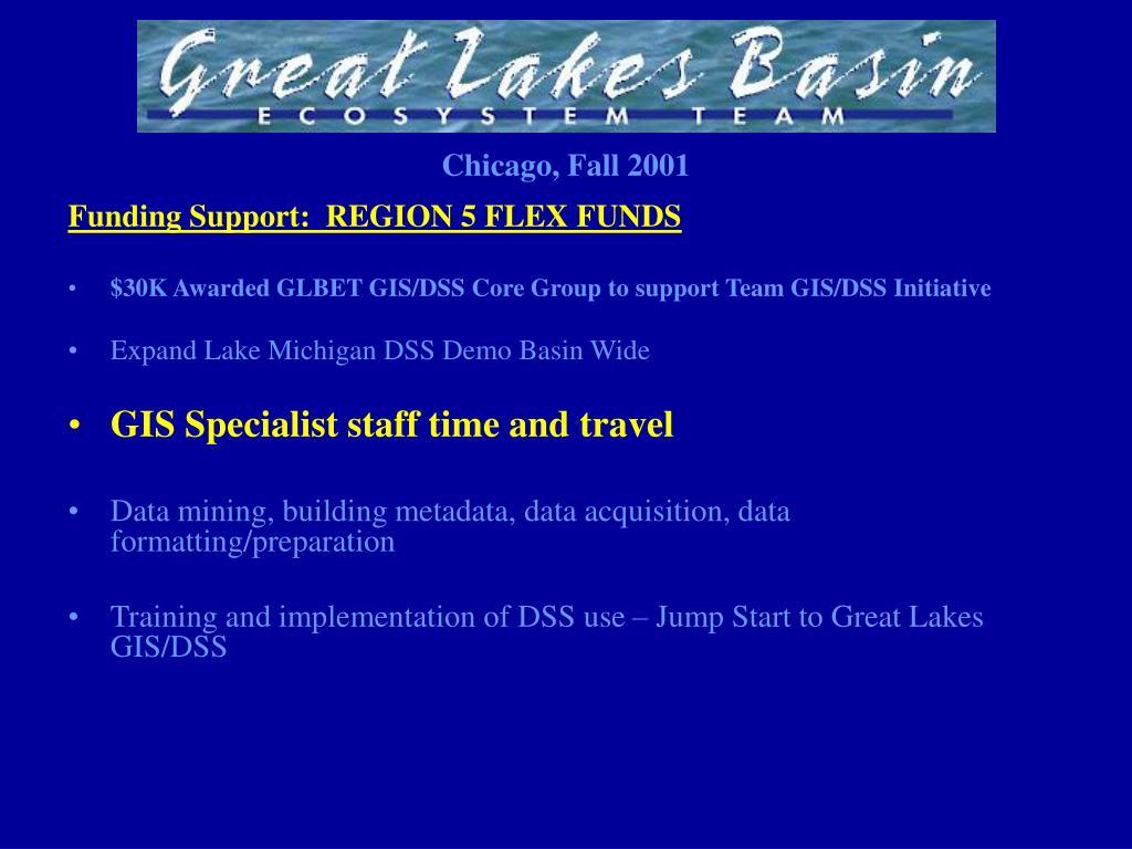 Funding Support:  REGION 5 FLEX FUNDS