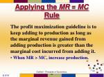 applying the mr mc rule34