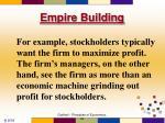 empire building70