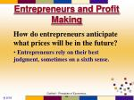 entrepreneurs and profit making6