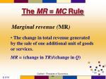 the mr mc rule20