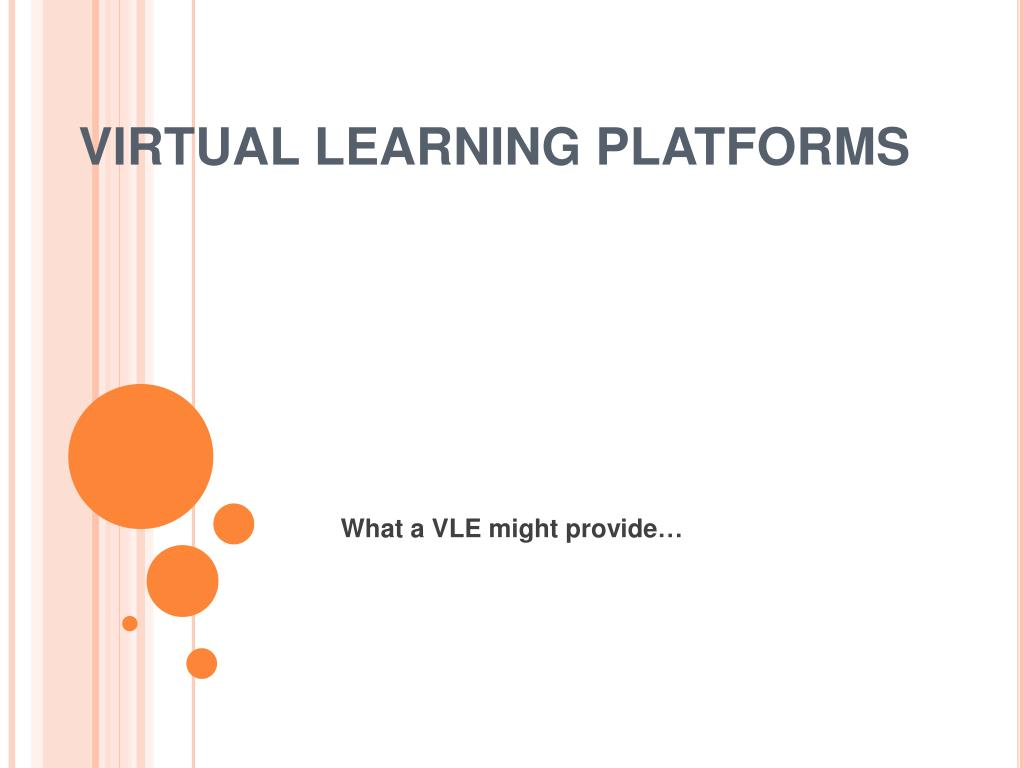 virtual learning platforms l.