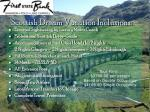 scottish dream vacation inclusions