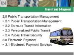 transit and e payment