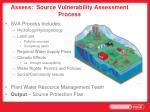 assess source vulnerability assessment process