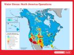 water stress north america operations