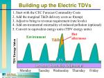 building up the electric tdvs
