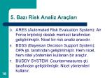 5 baz risk analiz ara lar18