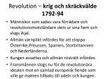 revolution krig och skr ckv lde 1792 9419