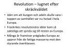 revolution lugnet efter skr ckv ldet24